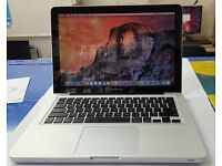 "Apple MacBook Pro A1278 13"" Laptop 2.4Ghz, 4Gb Ram 750Gb HDD (Mid 2010)"
