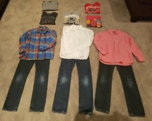 BOYS CLOTHING & BOOTS