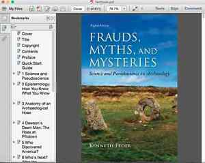 Frauds, Myths, and Mysteries: Science and Pseudoscience in Arch