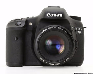 CANON 7D with 50mm 70-105mm and accessories