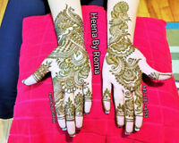 Heena Artistry Stands@ Above 10Yrs of Henna Expertise-Brampton