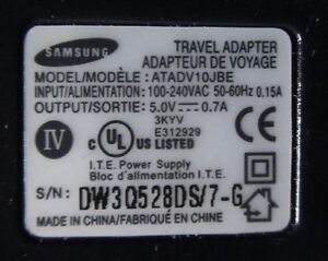 Adaptor/charger for Koodo cell phone - Price reduced ! West Island Greater Montréal image 2