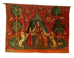 Large Vintage French Aubusson Style Tapestry