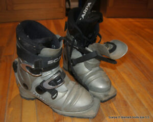 Scarpa T3 telemark boots size 5.5