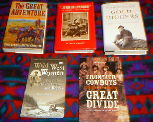 B.C. History - set of 5 on the Klondike and sellting of the west