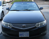 Best Offer!!! 2002 Toyota Solara Convertible Car for Sale