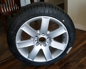 "BMW 17"" Rim + Tire (NEW)"