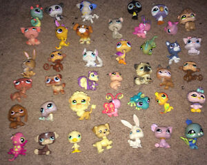 40 Littlest Pet Shop Lot ~ Dogs, Cats, etc + FREE SHIPPING!!