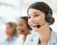 Service  contact client ,