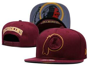 best service ad4de 28257 Washington Redskins New NFL Embroidered Hat Snapback Adjustable Adult One  Size