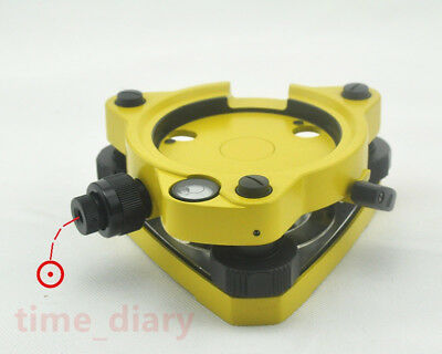 New Yellow Three-jaw Tribrach With Optical Plummet For Total Stations