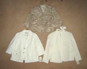 New Tanjay Jackets (for over a dress or top) - size 12P (Petite)