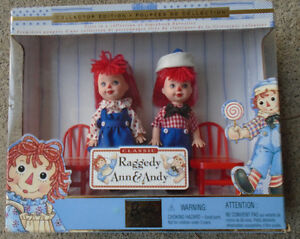 Raggedy Ann and Andy*Kelly and Tommy Dolls*Barbie Collectibles*N
