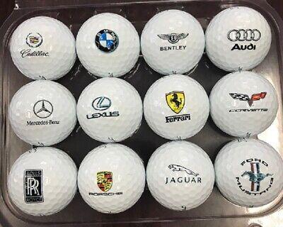 1 Dozen (Luxury Automobile Logos) Titleist Pro V1 Collectors Edition Golf  Balls 825c7613ada