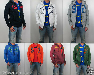 Abercrombie Fitch A F Men Muscle Fit Upper Hudson Cooper Hoodie Sweater Jacket