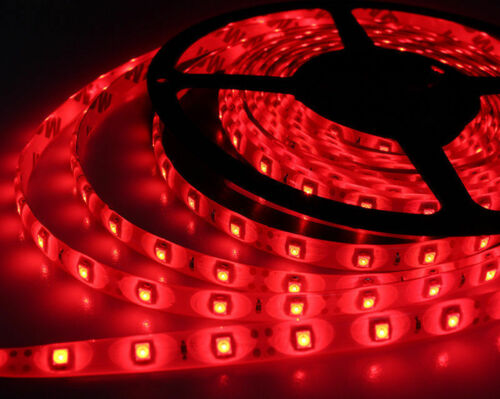 12V Waterproof LED Strip Light 5M 300LEDs For Boat / Truck / Car/ Suv / Rv Red