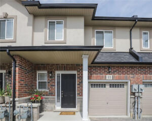 Fantastic Gem!! Freehold Townhouse With Condo Road!
