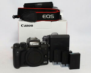 Canon EOS M5 24.2MP megapixel Mirrorless DSLR Body Only $875