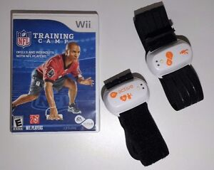 Wii NFL Training Camp with Active Sensors