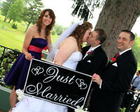 Wedding    PHOTOGRAPHY or VIDEO  8Hr  Special $799.00