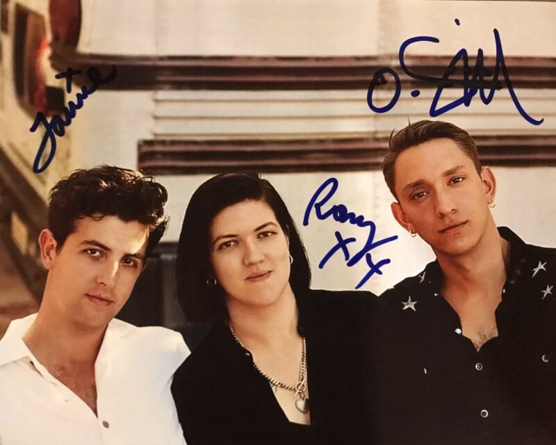 Rock & Pop Autographs-original Popular Brand The Xx Full Band Hand Signed I See You Vinyl Rare Indie Pop Band Autographed