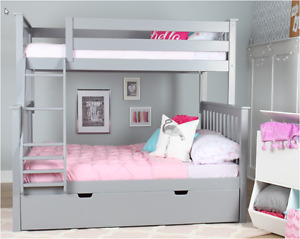 SPRING SALE _ SHIPPING CANADA WIDE_BUNK & LOFT BED_SOLID WOOD