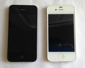 Two Apple iPhone 4S 32GB Bell/Virgin in NEW Condition $75 Each