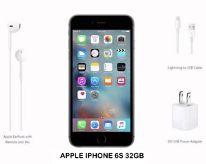 FACTORY UNLOCK APPLE IPHONE 6S 32GB - USED & MINT CONDITION