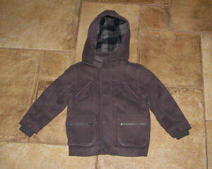 LONDON FOG TWO BOYS SIZE 4 WINTER COATS DRESSY & CASUAL
