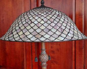 Quoizel floor lamp - Tiffany shade...