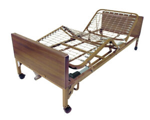 Drive Electric Hospital Bed w/ Mattress & Rails