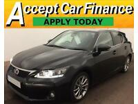 Lexus CT 200h 1.8 ( 134bhp ) CVT 2013MY Advance FROM £51 PER WEEK!
