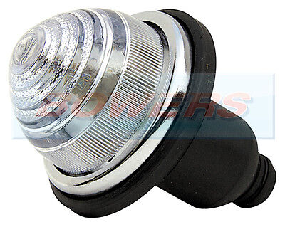 FRONT/REAR CLEAR LENS INDICATOR LAMP LIGHT CLASSIC MINI LAND ROVER AS LUCAS L594