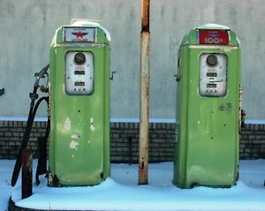 We will buy porcelain and tin signs, gas pumps , auto and gas/