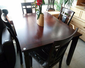 New Dining Set with 4 Chairs