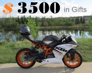 2016 .... KTM RC 390 ...... ABS ............ with $3500 in GIFTs