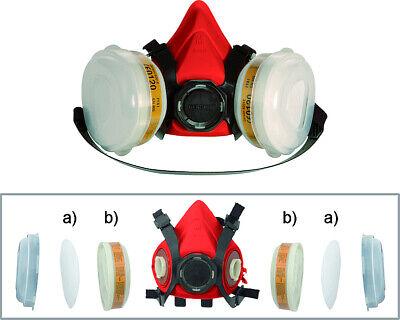 CAR SYSTEM Lackiermaske M Lackierer Maske Atemschutzmaske Maske Ventil Schutz