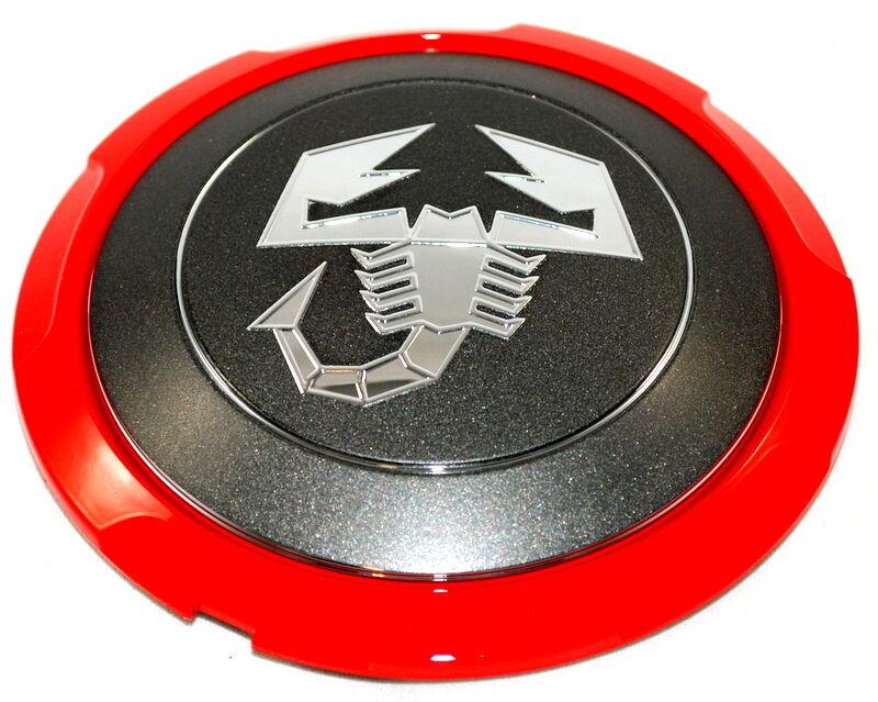 FIAT 500 ABARTH 1.4 16V  NEW Genuine Alloy Wheel Center Cap Cover 51820507