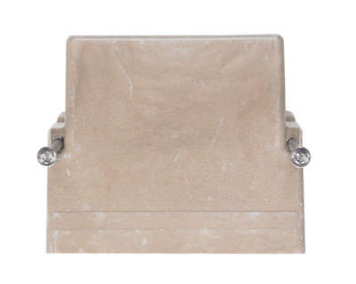 New Allied Moulded 1 Gang Outlet Box Fiberglass Tan 1098n