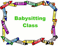 French and English Babysitting classes monthly