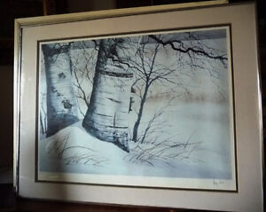 Canadian Winter Landscape by Doug Hook, Artist's Print