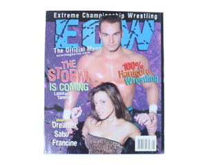 ECW Wrestling Magazine - Full Collection of all 6 issues WWE