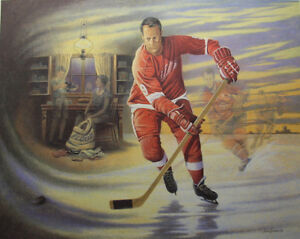 REDUCED! Mr. Hockey! Celebrity Edition Signed by Gordie Howe