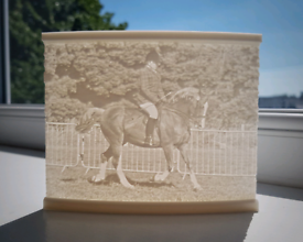 3D Printed Picture Plaque, Personalized Gift, Lithophane