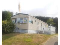 Sited static caravan for sale, with decking and private garden! Shanklin, IOW