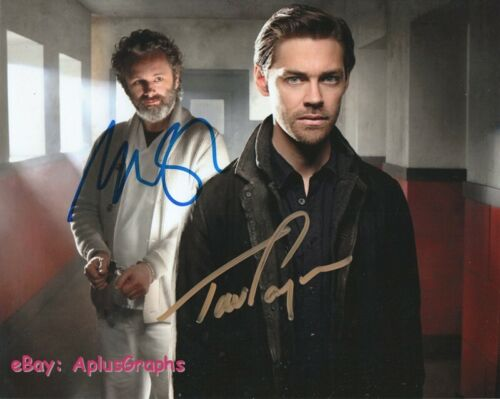 PRODIGAL SON.. Tom Payne and Michael Sheen - SIGNED