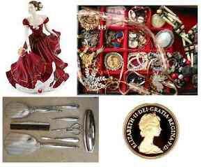 Buying Estate Jewellery, China, Silver, Coins, Antiques +