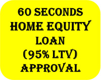 2nd  Mortgages  (Home Equity Loans) Upto 95%LTV for Bad Credit