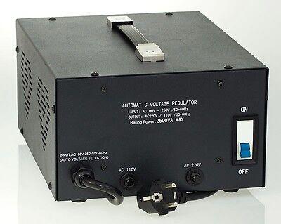 как выглядит Преобразователь напряжения для аккумулятора Diamond Series DSR-2500 w/ Regulator Watt Step Up/Down Voltage Converter фото