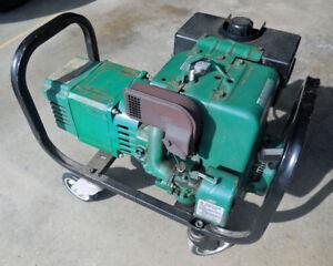 5000 watt Coleman Generator